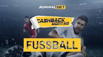 Admiralbet Cashback Montag
