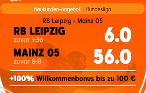 888sport Leipzig Mainz Quoten Boost