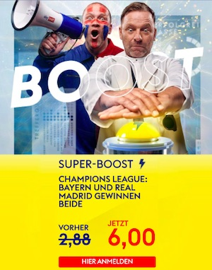 Sky Bet Bayern München Real Madrid Super Boost