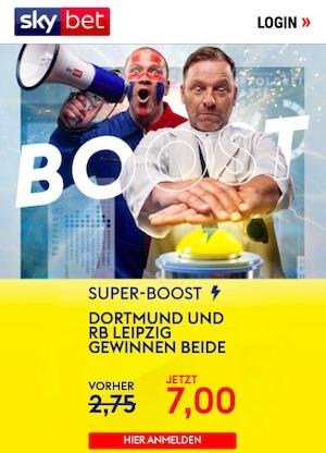 SkyBet Dortmund Leipzig Super Boost