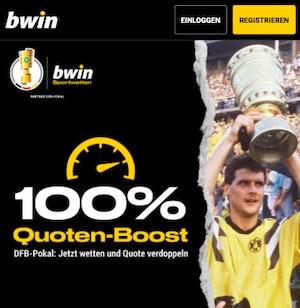 Bwin Quoten Boost DFB Pokal