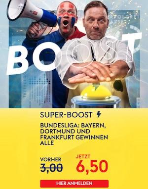 SkyBet Bayern Dortmund Frankfurt Bundesliga Super Boost