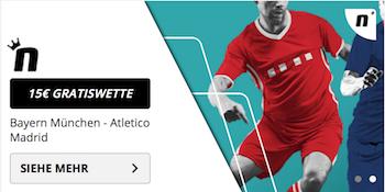 novibet gratiswette bayern atletico