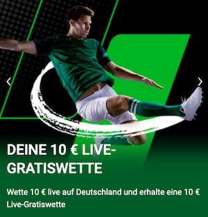 Spanien Deutschland Unibet 10 Euro Live-wette