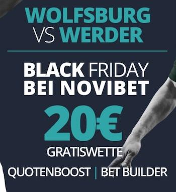 Novibet Black Friday Gratiswette