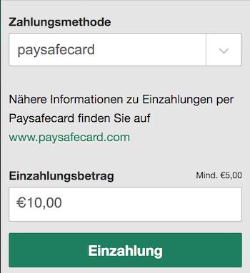 Paysafe Auf Konto Einzahlen
