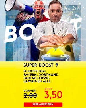 SkyBet Bayern Dortmund Leipzig Boost