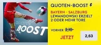 SkyBet Lewandwoski 2 Tore gegen Salzburg