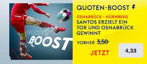 Skybet Osnabrück Nürnberg Boost