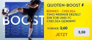 SkyBet Werner Boost gegen Rennes