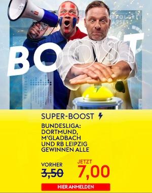 SkyBet Bundesliga Spieltag 11 Super Boost