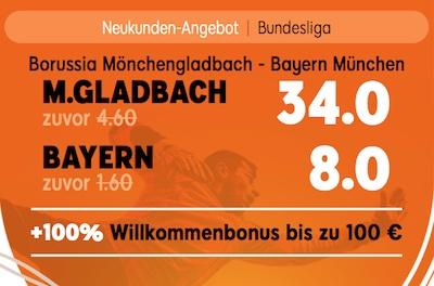 888sport boost bayern gladbach