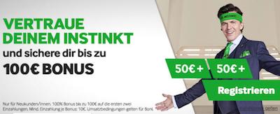 Betway Bonus Neu 100 Euro