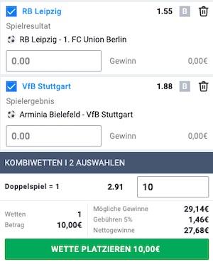 Betano Bundesliga Kombiwette