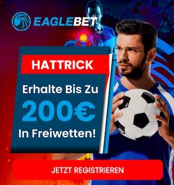 Eaglebet Bonus Hattrick