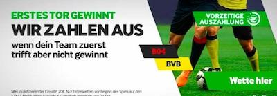 Betway erstes Tor Leverkusen Dortmund