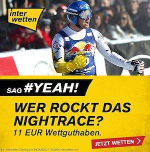 Interwetten Nightrace 11 Euro