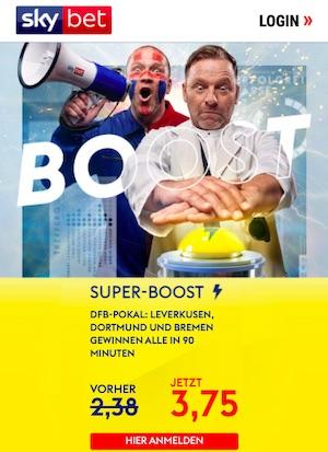 Skybet DFB Pokal Super Boost