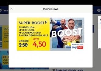 Super Boost Sky Bet