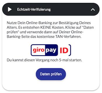 Bildbet Giropay ID