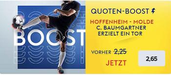 Skybet Hoffenheim Boost