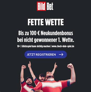 bildbet bonus 100 euro