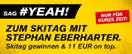 Interwetten Eberharter 11 Euro FreeBet