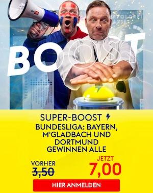 SkyBet Bayern, Gladbach, Dortmund Boost
