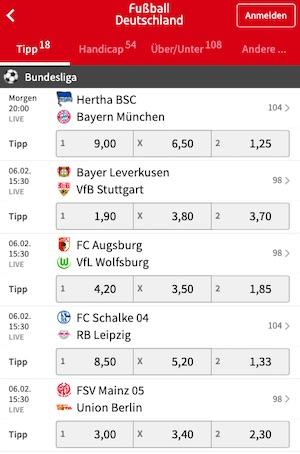 Tipico Bundesliga Deutschland Wetten