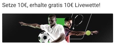 unibet freebet live 10 euro