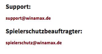 winamax support