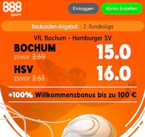 888sport Bochum HSV Boost