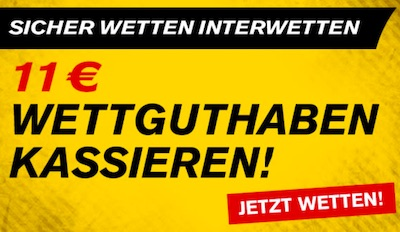 Interwetten CL 11 Euro