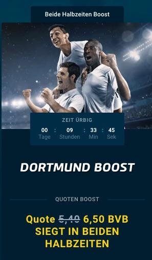 Gladbach Dortmund Boost Mybet
