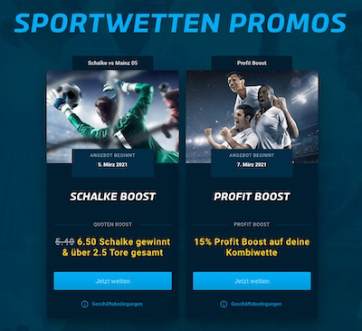 Mybet Sportwetten Promos Schalke