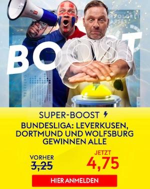 SkyBet Bundesliga Spieltag 27 Super Boost