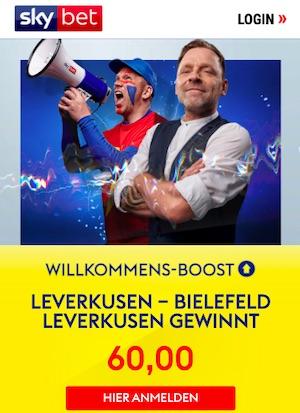 SkyBet Leverkusen Quote 60