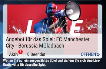 skybet live gratiswette mancity gladbach