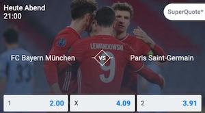 Bayern Paris Quoten Betano