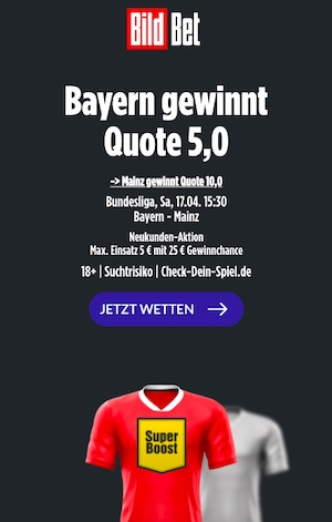 Bayern Super Boost Bildbet