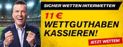 Interwetten CL Halbfinale 11 Euro