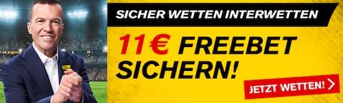 Interwetten Champions League Finale FreeBet