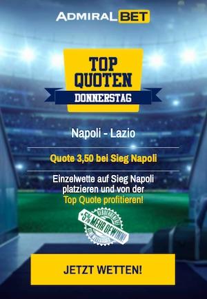 Admiralbet Napoli Lazio Topquote