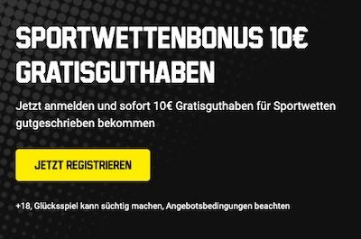 10€ Gratiswette Unibet