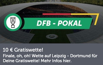 Comeon DFB Pokal Gratiswette