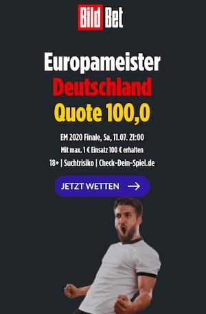 Bildbet Deutschland EM Sieger