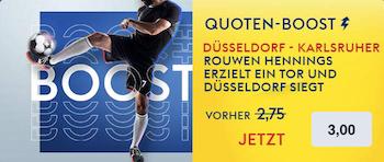 skybet duesseldorf boost