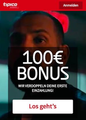 Tipico Bonus Code 2021