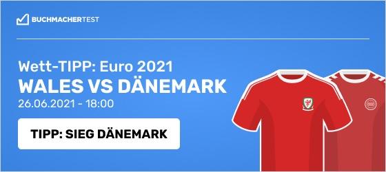 Wales vs Dänemark Wett Tipp