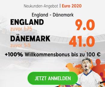 888sport boost england daenemark
